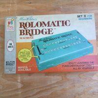 Rolomatic Bridge (Milton Bradley - 1969)