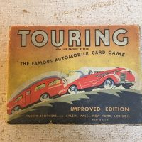 Touring Card Game (Parker Bros. - 1937)