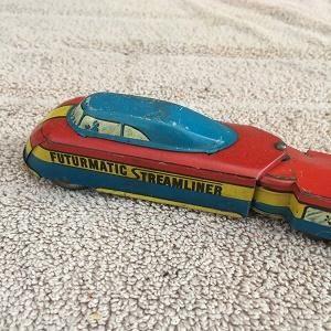 Futurmatic Streamliner (windup no key)(missing rear wheels)