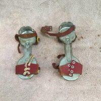 Roller Skates (1950's) (straps torn)