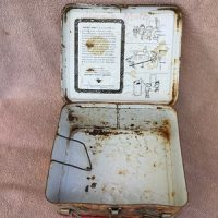 Cracker Jack Lunch Box (1970's)(No Thermos)