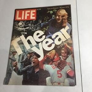 Life Magazine Winter 1976 The Year in Pictures