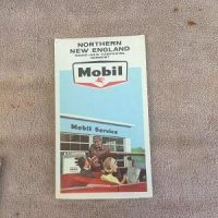 Mobil Map of Northern New England (1965)