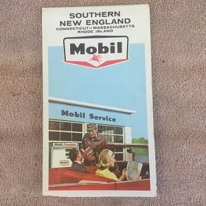 Mobil Map of Southern New England