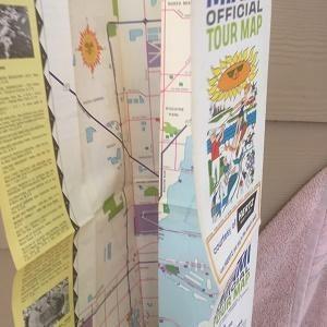 Hertz Miami Tour Map