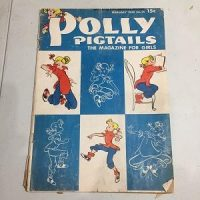Polly Pigtails (Feb. 1948) No. 25