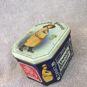 Uneeda Biscuit Tin (Reproduction)