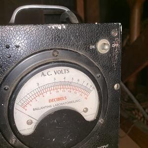 AC Voltmeter Ballantine