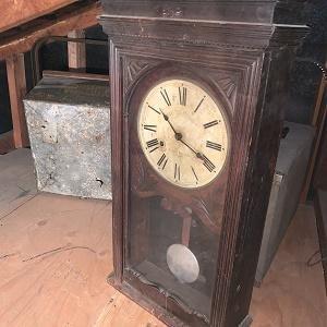 Bundy Time Recorder Wall Clock