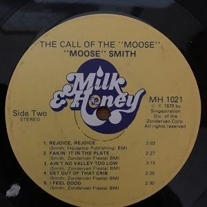 The Call of the Moose (Milk & Honey) no sleeve