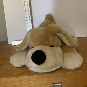 Previously owned and loved plush toy.